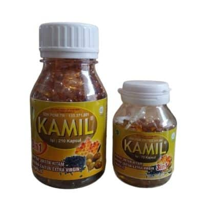 Merk Habats Terbaik Kamil Kapsul 3 in 1