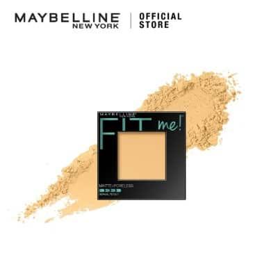 Bedak Padat untuk Kulit Berminyak dan Berjerawat Maybelline Fit Me! Matte+Poreless Powder