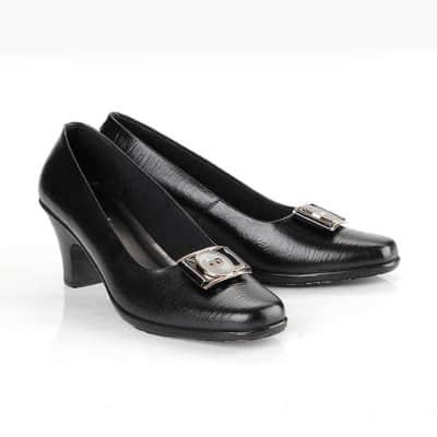 Sepatu Pantofel Wanita Terbaik Blackkelly – LEN 418