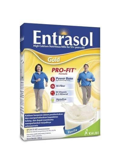 Susu untuk Tulang dan Sendi Terbaik Entrasol Gold