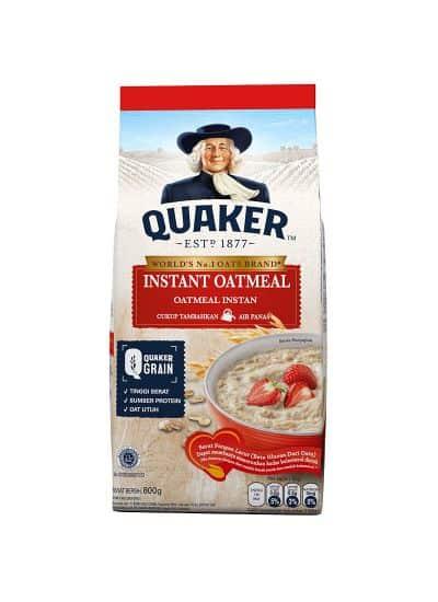 Sereal untuk Diet Terbaik Quaker Instant Oatmeal