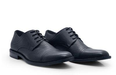 Sepatu Pantofel Pria Terbaik Bata Flexible Fern Black 8216050