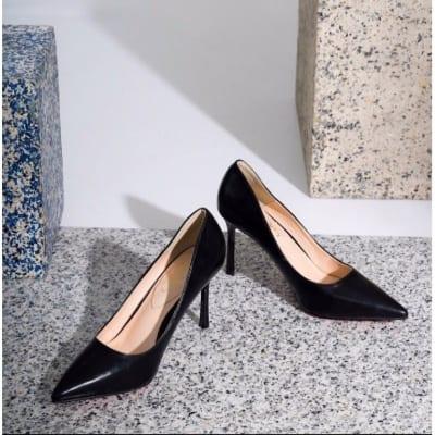 Sepatu Pantofel Wanita Terbaik Mandy's Black Heels