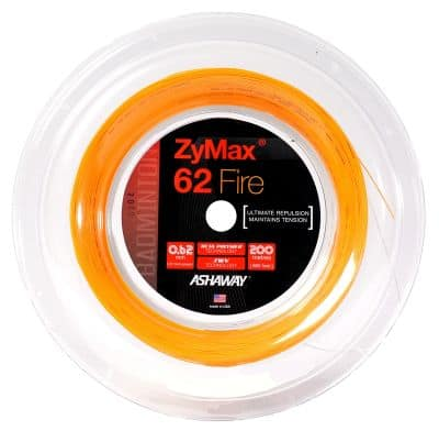Senar Raket Badminton Terbaik Merk Ashaway Zymax 62 Fire