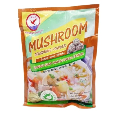 Kaldu Jamur Bubuk Terbaik Herring Brand Mushroom Seasoning Powder