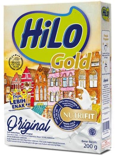 Susu untuk Tulang dan Sendi Terbaik HiLo Gold