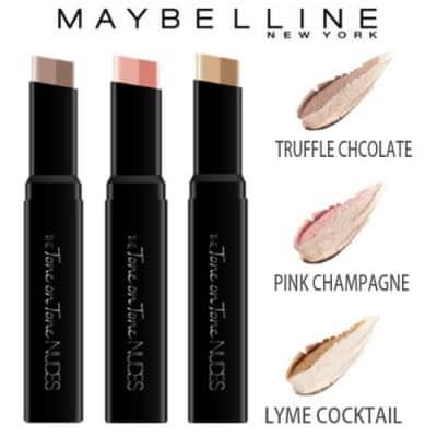Merk Eyeshadow Terbaik Maybelline The Tone On Tone Nudes