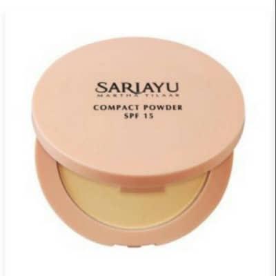 Bedak Padat untuk Kulit Berminyak dan Berjerawat Sariayu compact powder