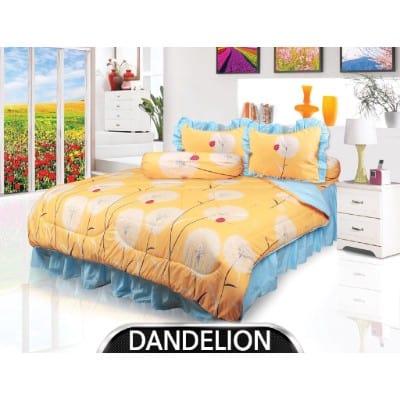 Sprei Kasur Terbaik Sprei My Love Motif Dandelion