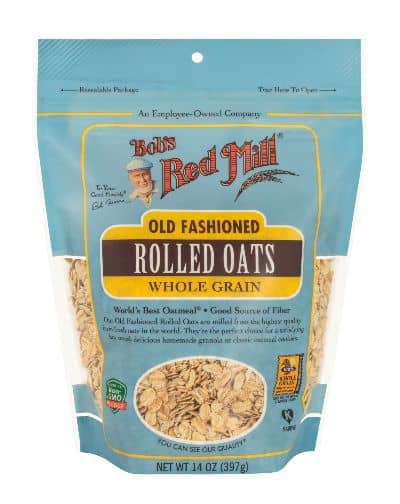 Sereal untuk Diet Terbaik Bob's Red Mill Old Fashioned Rolled Oats