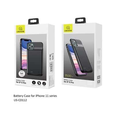 Merk Case Iphone Terbaik USAMS iPhone 11 Pro Battery Powerbank Case