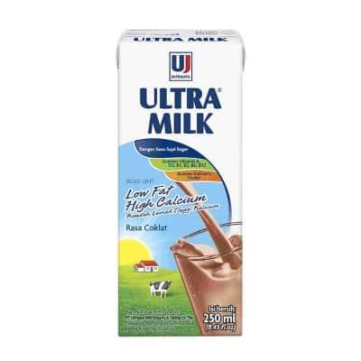 Susu untuk Tulang dan Sendi Terbaik Ultra Milk Low Fat High Calcium
