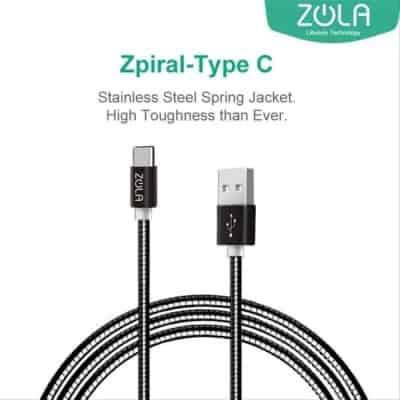 Merk Kabel Data Type C Terbaik Zola Flash Fast Charge Kabel Data Type C