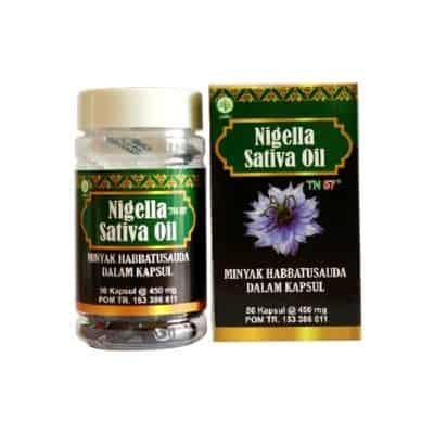 Merk Habbatussauda Nigella Sativa Oil TN57