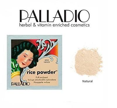 Bedak Padat untuk Kulit Berminyak dan Berjerawat Palladio Rice Powder