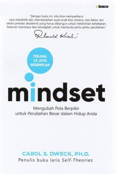 Buku Pengembangan Diri (Self Improvement) Terbaik Mindset Mengubah Pola Berpikir untuk Perubahan Besar dalam Hidup Anda