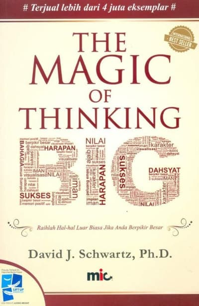 Buku Pengembangan Diri (Self Improvement) Terbaik The Magic Of Thinking Big