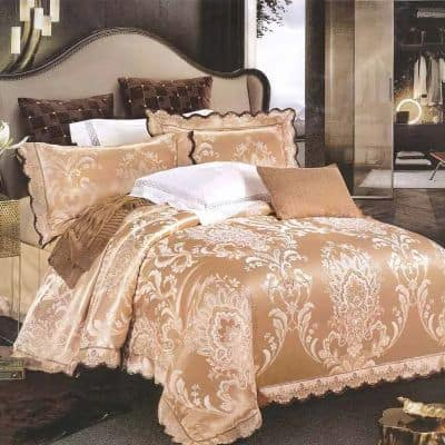 Model Bed Cover Kasur Terbaik Sutra