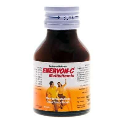 Vitamin yang Bagus untuk Daya Tahan Tubuh Kuat Terbaik Enervon-C Multivitamin