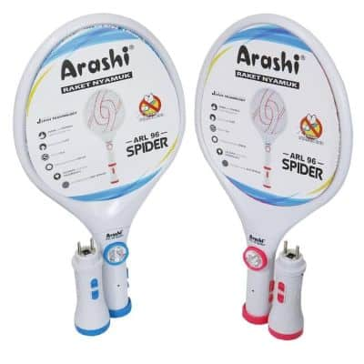 Raket Nyamuk Terbaik Merk Arashi Spider ARL 96