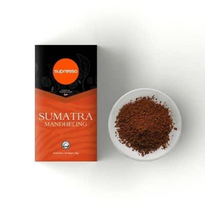 Rekomendasi Kopi Bubuk Terbaik yang Enak Supresso Sumatra Mandheling - Biji Kopi Pilihan