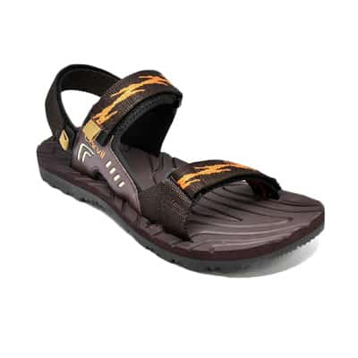 Sepatu Sandal Pria Terbaik Carvil Sandal Equator-GM BrownOrange