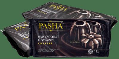 Coklat Blok Terbaik Pasha Dark Chocolate Compound