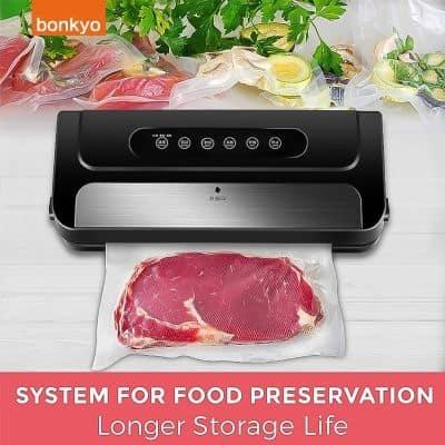 Sealer Plastik Terbaik Bonkyo Portable Food Vacuum Sealer VM2