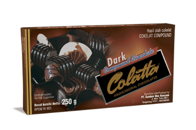 Coklat Blok Terbaik Colatta Dark Compound Chocolate