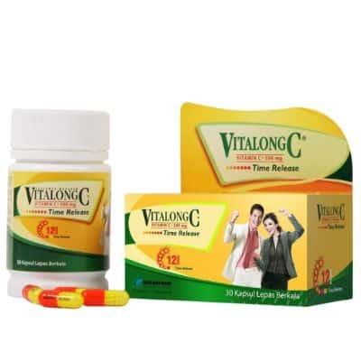 Vitamin yang Bagus untuk Daya Tahan Tubuh Kuat Terbaik Vitalong C