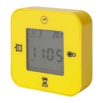 Jam Weker Digital Unik IKEA Klockis