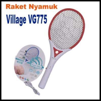 Raket Nyamuk Terbaik Village VG 775 - Raket Nyamuk Recharge