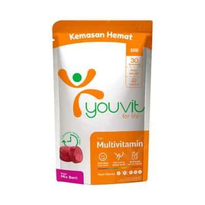 Vitamin yang Bagus untuk Daya Tahan Tubuh Kuat Terbaik Youvit Multivitamin Adult