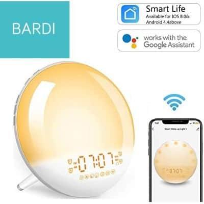 Jam Weker Unik Terbaik Bardi Smart Wake Up Light Clock