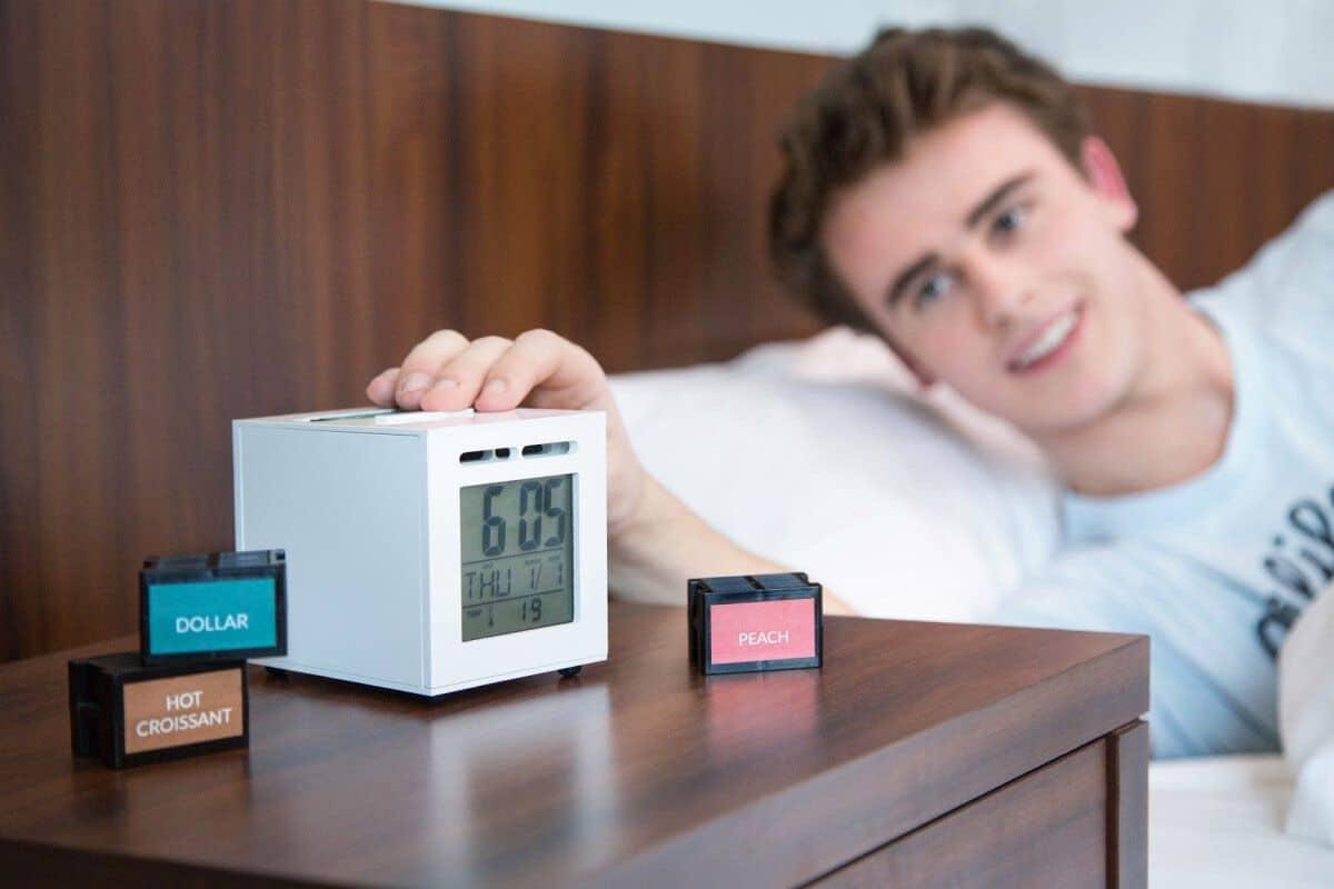 Jam Weker Digital Unik anti Malas Bangun