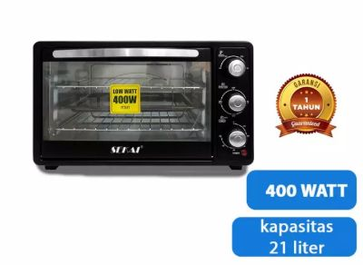 Oven Listrik Low Watt Terbaik SEKAI OV211_