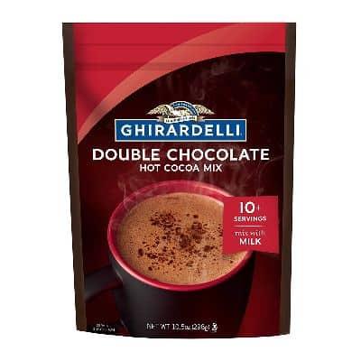 Minuman Coklat Bubuk Instan Enak Terbaik Ghirardelli Double Chocolate Premium Hot Cocoa