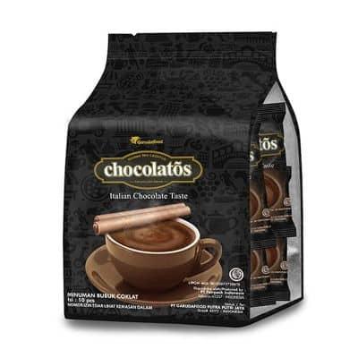 Minuman Coklat Bubuk Instan Enak Terbaik Chocolatos Choco Drink