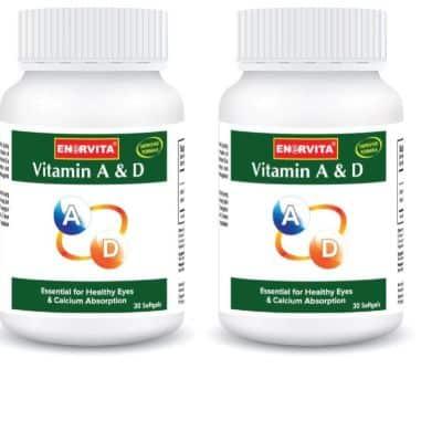 Suplemen Vitamin D Terbaik Enervita Vitamin A & D