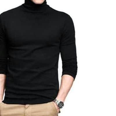 Kaos Lengan Panjang Pria Terbaik Kayser Kaos Turtleneck