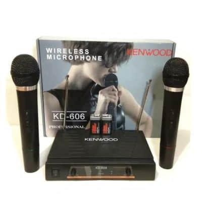 Mic Wireless Terbaik Kenwood KD 606
