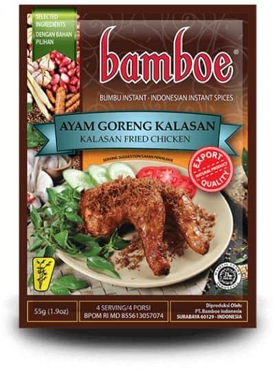 Bumbu Ayam Goreng Enak Terbaik Bamboe Ayam Goreng Kalasan