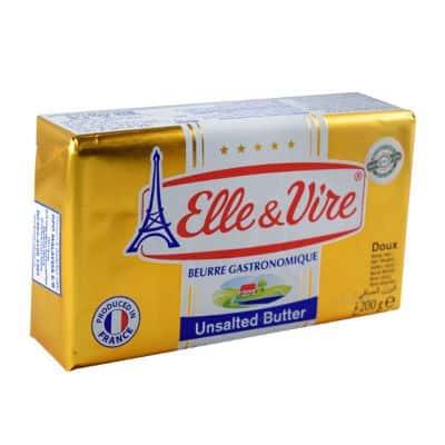 Mentega (Butter) Terbaik Elle & Vire Unsalted Gourmet Butter
