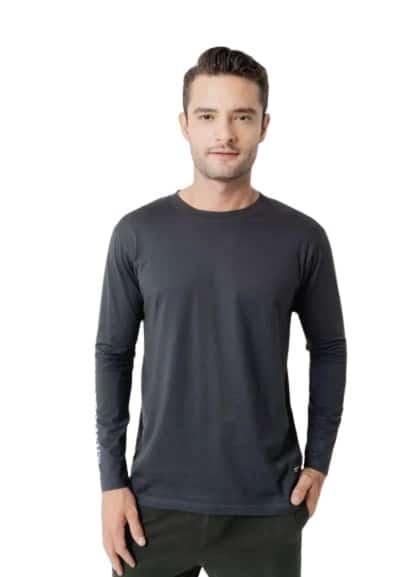 Kaos Lengan Panjang Pria Terbaik Greenlight Men Tshirt 200221