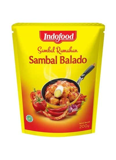 Bumbu Balado Instan Enak Terbaik Indofood Sambal Ramadhan Sambal Balado