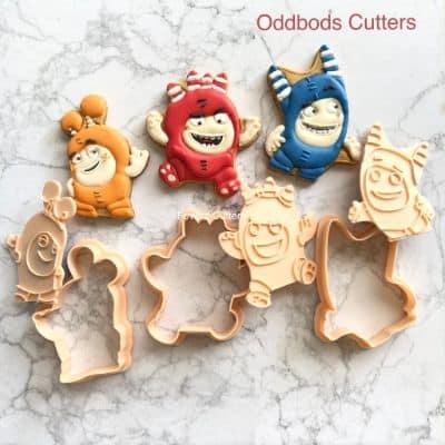 Cetakan Kue Kering Terbaik 3D Cookie Cutter