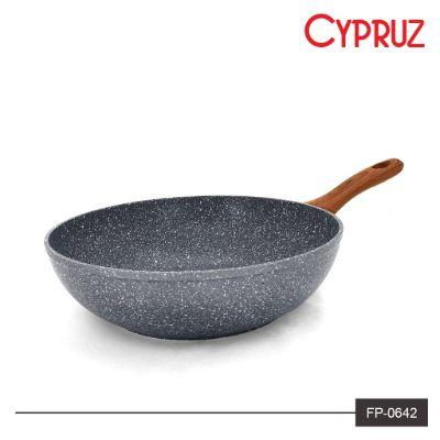 Wajan Anti Lengket Terbaik Cypruz Fry Wok FP-0642