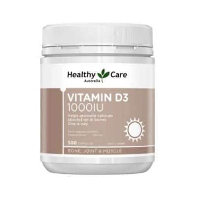Suplemen Vitamin D Terbaik Healthy Care Vitamin D3 1.000 IU