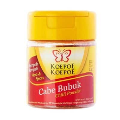 Bubuk Cabe Kemasan Terbaik Koepoe Koepoe