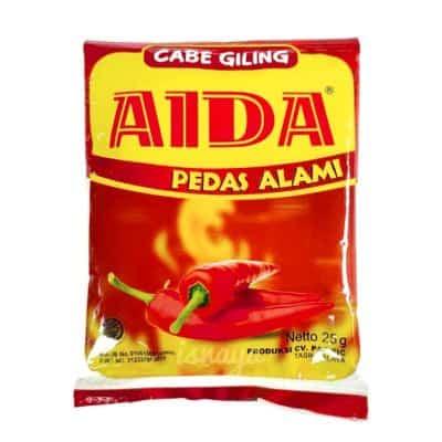 Bubuk Cabe Kemasan Terbaik Aida